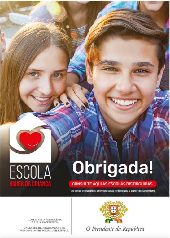 «ESCOLA AMIGA DA CRIANÇA» – IDEIAS EXTRAORDINÁRIAS 2.ª Edição | 2018-2019